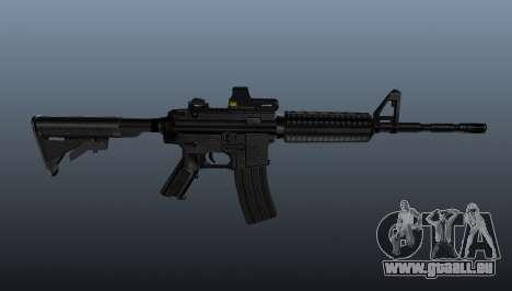 Automatique carabine M4A1 Tactical pour GTA 4 troisième écran