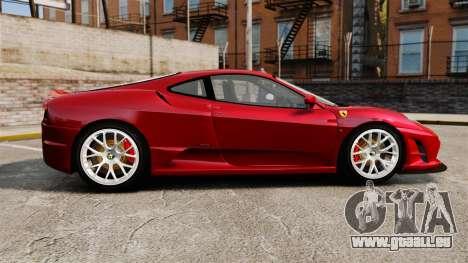 Ferrari F430 Scuderia 2007 pour GTA 4 est une gauche
