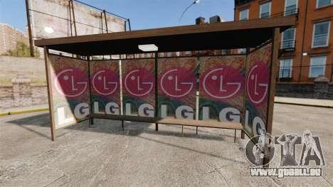 Neue Plakate an Bushaltestellen für GTA 4