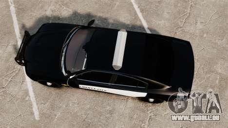 Dodge Charger 2013 LCPD STL-K Force [ELS] für GTA 4 rechte Ansicht