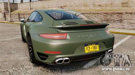 Porsche 911 Turbo 2014 [EPM] Ghosts für GTA 4 hinten links Ansicht