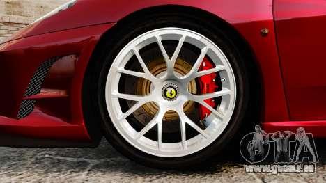 Ferrari F430 Scuderia 2007 pour GTA 4 Vue arrière