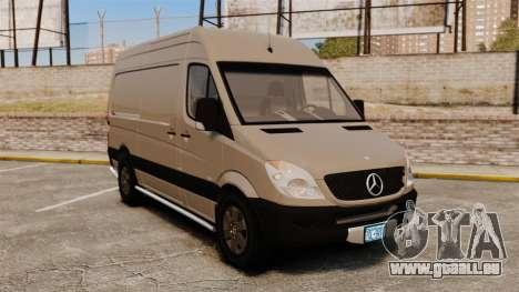 Mercedes-Benz Sprinter 2500 2011 v1.4 pour GTA 4