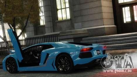 Lamborghini Aventador LP700-4 [EPM] 2012 pour GTA 4 Vue arrière de la gauche