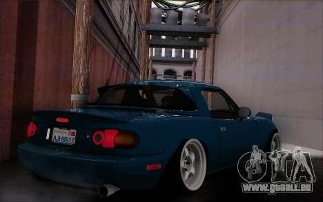Mazda Miata pour GTA San Andreas laissé vue