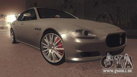 Maserati Quattroporte 2012 für GTA San Andreas