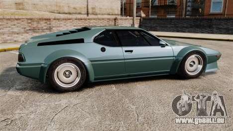 BMW M1 [EPM] pour GTA 4 est une gauche