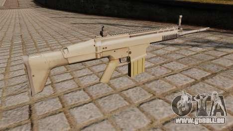 Fusil FN SCAR-H pour GTA 4 secondes d'écran