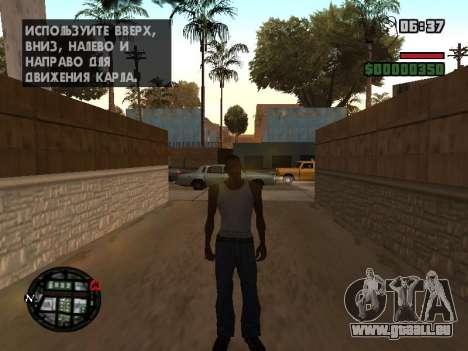 Neue Motorhaube und Symbole auf der Karte für GTA San Andreas fünften Screenshot