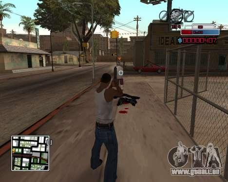 C-HUD by Braun pour GTA San Andreas deuxième écran