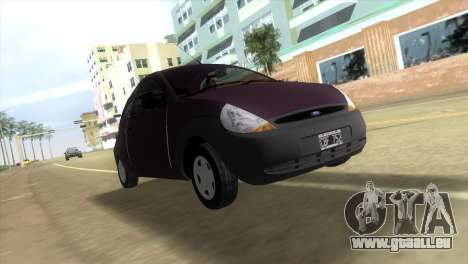 Ford Ka pour une vue GTA Vice City de la gauche