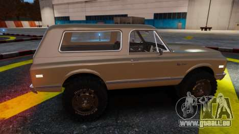 Chevrolet Blazer K5 1972 für GTA 4 Innen