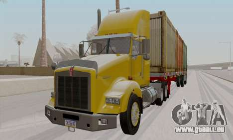 Kenworth T800 Daycab 2007 pour GTA San Andreas