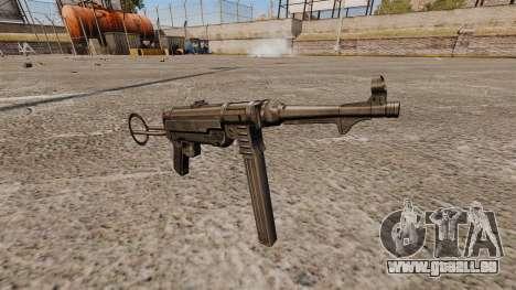 Pistolet mitrailleur MP 40 pour GTA 4