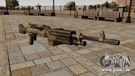 Allzweck-Maschinengewehr m240 für GTA 4