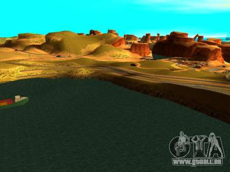 ENBSeries with View Distance pour GTA San Andreas septième écran