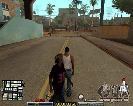C-HUD by qrt pour GTA San Andreas
