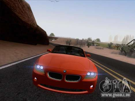 BMW Z4 Edit pour GTA San Andreas vue arrière