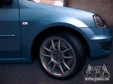 Dacia Logan GrayEdit pour GTA San Andreas vue de droite
