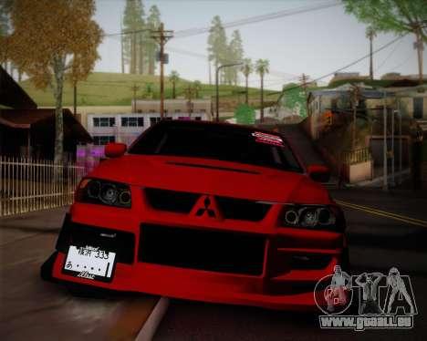 Mitsubishi Evolution VIII für GTA San Andreas
