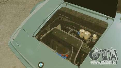 BMW M1 [EPM] pour GTA 4 est une vue de l'intérieur