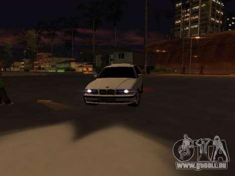 BMW 525 E34 für GTA San Andreas Innenansicht