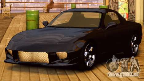 Mazda RX-7 FD 1999 pour GTA 4 Vue arrière de la gauche