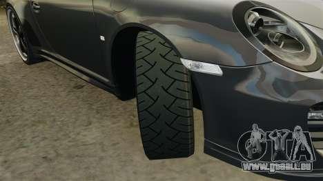 Porsche 911 Sport Classic 2010 pour GTA 4 est un côté
