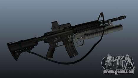 Automatique carabine M4A1 v3 pour GTA 4 troisième écran