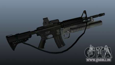 Automatische Carbine M4A1 v3 für GTA 4 dritte Screenshot