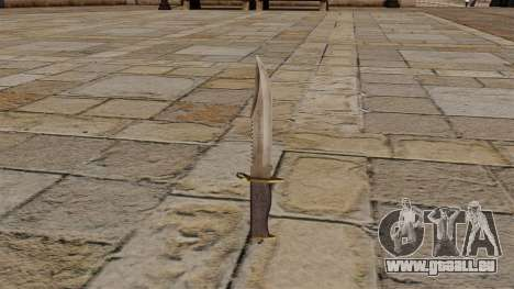 Couteau de combat pour GTA 4