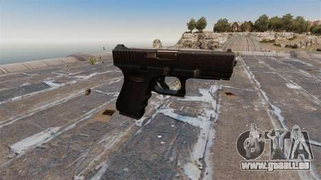 Halbautomatische Pistole Glock 19 für GTA 4