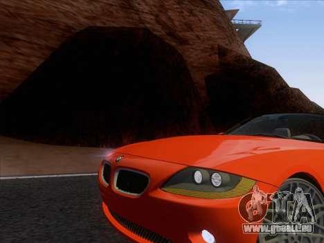 BMW Z4 Edit pour GTA San Andreas laissé vue
