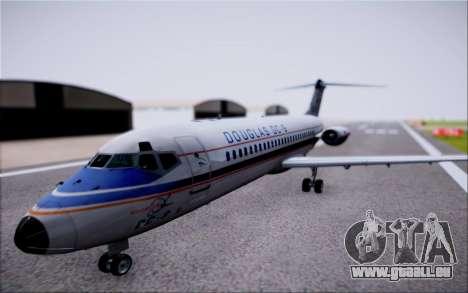 McDonnel Douglas DC-9-10 pour GTA San Andreas vue de droite
