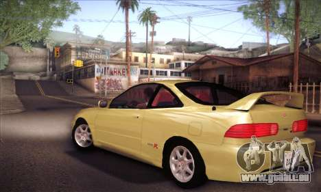 Honda Integra Drift pour GTA San Andreas laissé vue