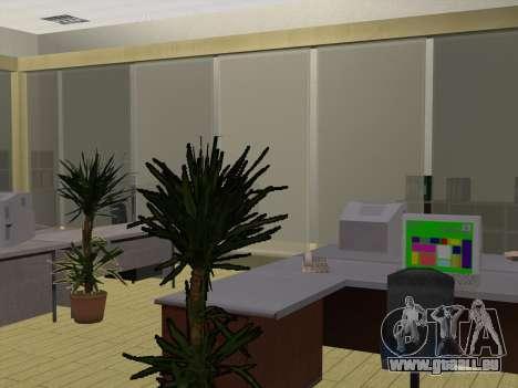 Nouvelles textures intérieur Mairie pour GTA San Andreas quatrième écran