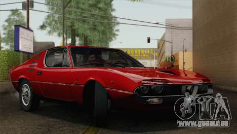 Alfa Romeo Montreal (105) 1970 für GTA San Andreas obere Ansicht