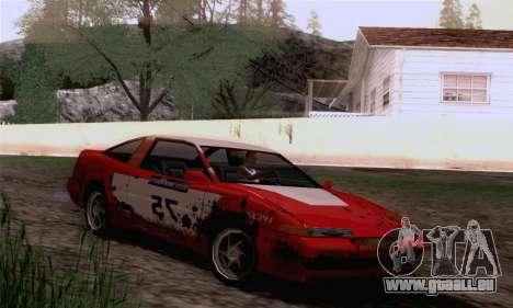 Uranus Rally Edition für GTA San Andreas zurück linke Ansicht