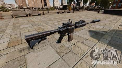Automatique carabine M4A1 SOPMOD pour GTA 4 secondes d'écran