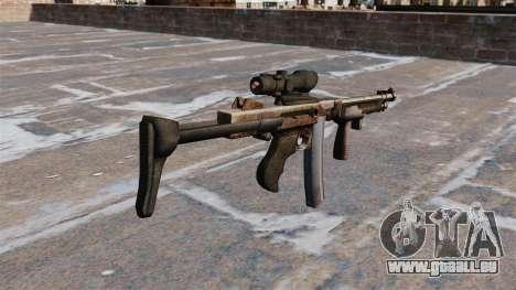 Die Thompson-Maschinenpistole 2009 für GTA 4 Sekunden Bildschirm