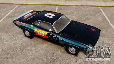 Dodge Challenger 1971 v1 pour GTA 4 Salon