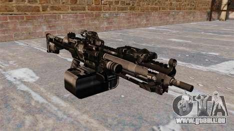 Allzweck-Maschinengewehr HK23E für GTA 4