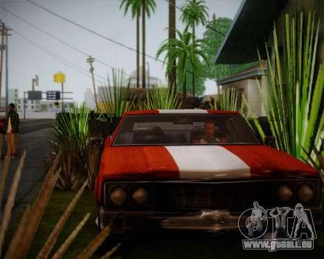 Sabre Turbo pour GTA San Andreas laissé vue