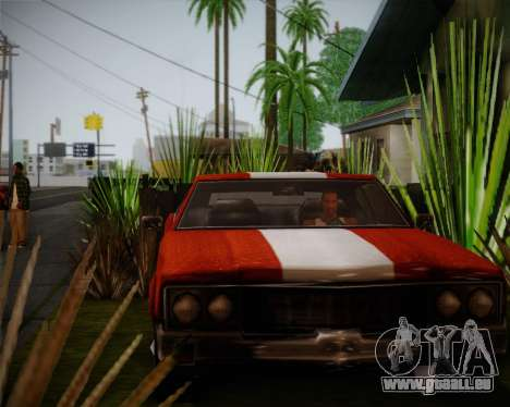 Sabre Turbo für GTA San Andreas linke Ansicht