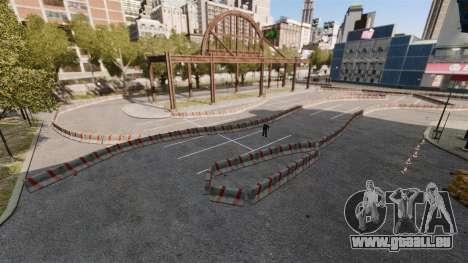 River Side Drift Track pour GTA 4 troisième écran