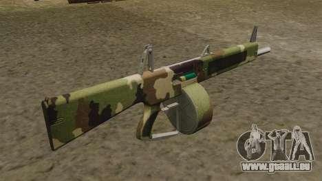 L'AA-12 shotgun Camo v2 pour GTA 4 secondes d'écran