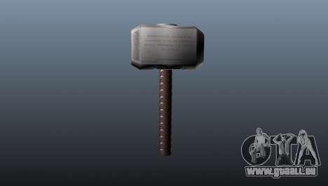 Marteau de Thor pour GTA 4 secondes d'écran