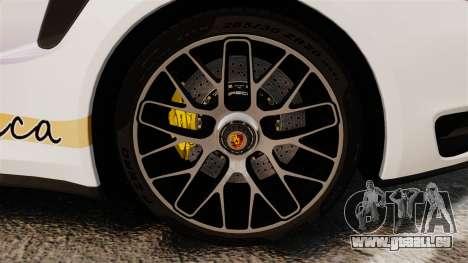 Porsche 911 Turbo 2014 [EPM] America für GTA 4 Rückansicht