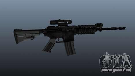 Carabine M4 du pique-notes pour GTA 4 troisième écran