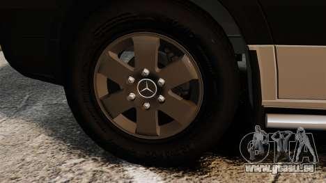 Mercedes-Benz Sprinter 2500 2011 v1.4 für GTA 4 Innenansicht